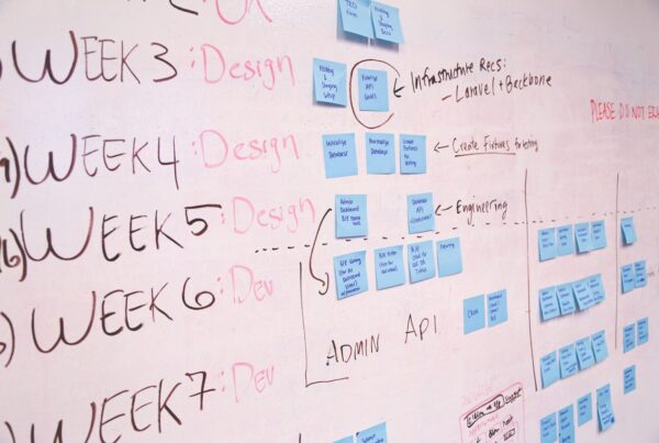 project manager planning timeline