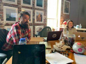 team meetings to encourage employee growth