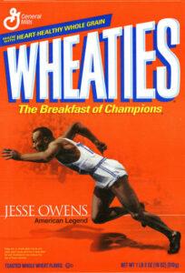 wheaties tagline cereal box